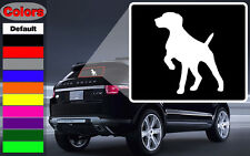 German Shorthaired Pointer Dog Vinyl Wall Decal Or Car Sticker - gspointerEY