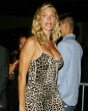 NATASHA HENSTRIDGE LEOPARD SKIN DRESS BUSTY PHOTO OR POSTER