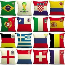 FIFA World Cup Football Throw Pillow Cases Back Cushion Cover New Fan Pillowcase