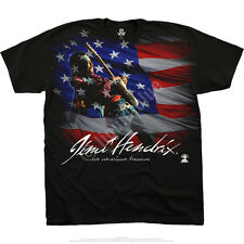 American Music Officially Licensed Hendrix Shirt Sizes L - 6XL Classic Rock