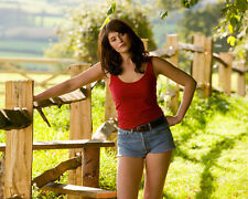 TAMARA DREWE GEMMA ARTERTON DENIM SHORTS PHOTO OR POSTER