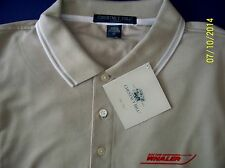 Boston Whaler Screen Printed Dri-Fast Chestnut Hill Pique Polo Golf  Boat