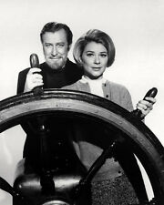 EDWARD MULHARE HOPE LANGE THE GHOST & MRS. MUIR SHIP'S WHEEL PHOTO OR POSTER