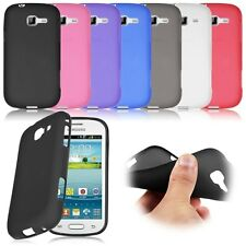 Soft Rubber Case Cover For Samsung Galaxy Fresh Lite Trend Duos GT S7390 S7392