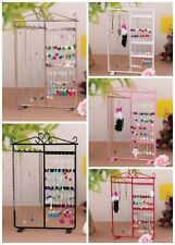 Classic Jewelry Rack Earring Bracelet Necklace Stand Organizer Holder Display