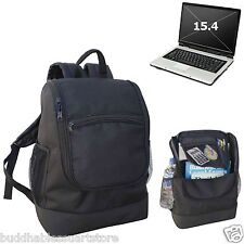 COMPU BACKPACK LARGE SPACE TRAVEL BOOK BAG MULTI POCKETS ORGANIZER LAPTOP POUCH