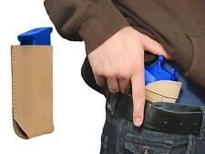New Barsony Tan Leather IWB Holster + Mag Pouch for Taurus Full Size 9mm 40 45