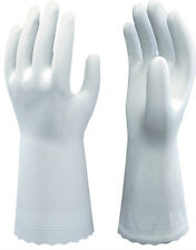 10 Pairs Of Showa B0700 Clean White Gloves - PVC Food Safe - 30cm