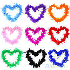 Charming 2m Feather Boa Fluffy Craft Costume Dressup Wedding Party Home Decor