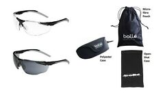 Bolle Universal Wraparound Safety Glasses / Specs / Spectacles & neckcord
