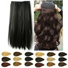 clearance sales clip in hair extensions 3/4 full head heat resistant topA hair
