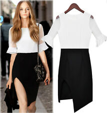 Celeb Womens Slim Fit Splicing Wear to Work Casual Evening Party Formal Dresses