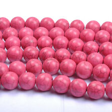 Plum Turquoise Round Charms Loose Spacer BEADS Choose - 6MM 8MM 10MM 12MM 14MM