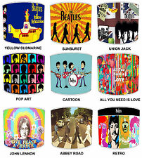 The Beatles Lamp shades Ideal To match Childrens Duvets Curtains Bedding