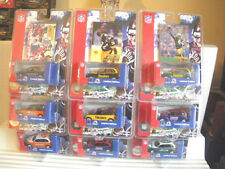 White Rose Collectibles 1/58 Scale NFL Chrysler PT Cruisers Mint in Mint Package