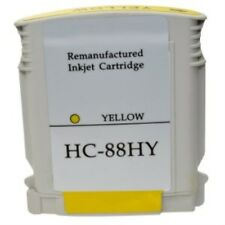 Remanufactured HP 88 / C9393AE Yellow Ink Cartridge for Printers
