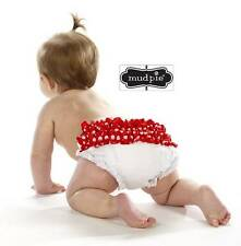 NEW Mud Pie Holiday Christmas Polka Dot Bloomers 0-6 M, 12-18M - DISCONTINUED