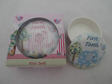 Babies First Tooth or First Curl  Trinket box Cavania Little Bird & Ellie