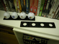 Trophy Golf Ball Display Rack - Holds 4 Balls