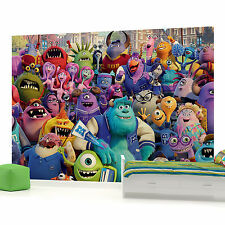 Disney Pixar Monsters University 3 Photo Wallpaper Wall Mural (CN-523VE)