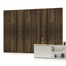 Dark Wood Texture 2 Photo Wallpaper Wall Mural (CN-1089P)