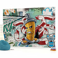WALL MURAL PHOTO WALLPAPER (1397VEVE) Graffiti Boys Urban Art