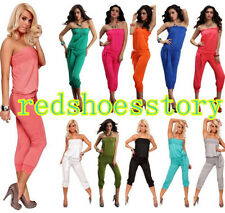 Flirty Jumpsuit Overalls Pants Romper Clubwear Gogo dance 4 Colors @ XY4005