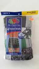 Fruit of the Loom Men's 4 Pack Camo / Assor Boxer Briefs, Camouflage, Size: 2XL