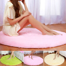 Modern Area Rugs Carpet tiles For Bedroom Yoga Mat 80CM Round pat 3 colors gift