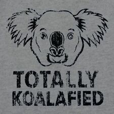 New TOTALLY KOALAFIED Shirt, Mens & Fitted Womens Sizes, Qualified Koala Pun