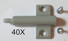40X cabinet cupboard kitchen door dampers buffers soft closer cushion hinges