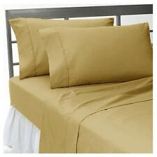 Taupe Solid Bedding Items-Sheet Set/Duvet/Fitted 1200TC 100%Egyptian Cotton