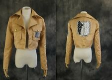a-600 S/M/L/XL/XXL Attack on Titan Jacke Jacket Eren Mikasa Levi Cosplay costume