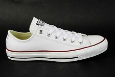 Converse Chuck Taylor All Star Unisex Leather Ox Optical White 132173C