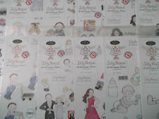 A4 Die Cut Cardmaking Decoupage Sheet Jolly Nation & Background Various Designs