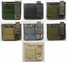 New Molle Command Admin Map Pouch 6 Colors--Airsoft Game