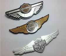 Car Motor Harley Davidson logo Aluminum Car Decals Stickers 100 years