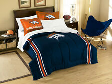 NFL Full Bed Comforter (Embroidered)   with Shams and Sheet set 7pc.*Free Ship**