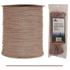 High Strength Low Stretch Rainbow Para-Cord - USA Made, Kernmantle Construction