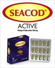 Buy Cod Liver Active,Marine Oils,Omega 3,VITAMIN A,D Improves Immunity