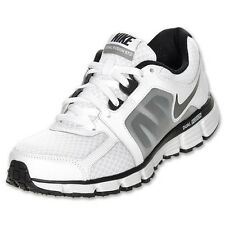 Mens Nike Dual Fusion ST 2 White Black Running Training Shoes New 454242-101