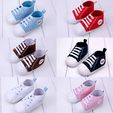 Toddler Infant Baby Boy Girl Soft Sole Crib Shoes Sneaker Newborn Cute
