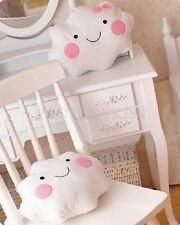 Lovely Cloud Shaped White Pillow Sofa Cushion Office Nap Bolster GBW