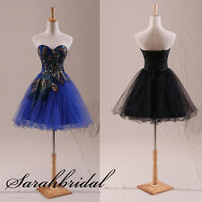 New Cheap Feather Short Homecoming Prom Dresses Mini Party Cocktail Ball Gowns