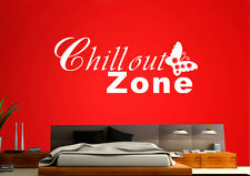 Wall Tattoo Chillout Zone Butterfly Wall Foil Wzt29