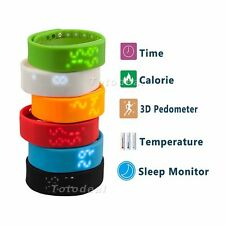 Smart Watch Pedometer Step Walking Distance Calorie Counter Activity Tracker