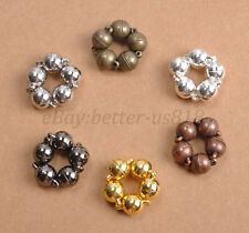 10Sets 6MM 8MM 10MM Silver/Gold Plated Two Parts Powerful Magnet Clasps Findings