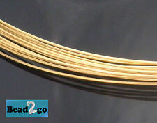 Brass Wire - Red Brass Round Wire 22ga Various Lengths - Artistic Beading Wire