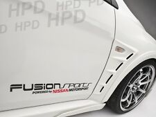 Fusion Sports Powered by Nissan Motorsport Car Decal Vinyl Sticker Racing Nismo