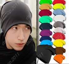 Hot Unisex Mens Winter Knitted New Woolly Oversized Beanie Slouch Hat Head Cap